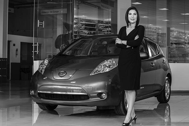 Mayra Gonzalez CEO de Nissan Mexicana, int