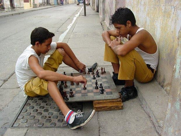 De Venezuela a Cuba Ajedrez en Cuba