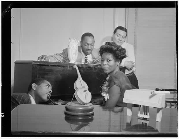 Dizzy Gillespie, Tadd Dameron, Mary Lou Williams, and Jack Teagarden