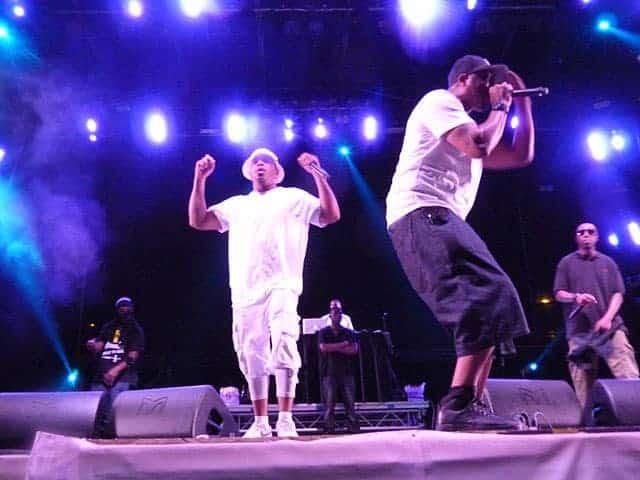 Wu-Tang Clan concert